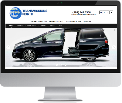 Auto Shop Web Design