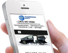 Transmission Repair Web Design