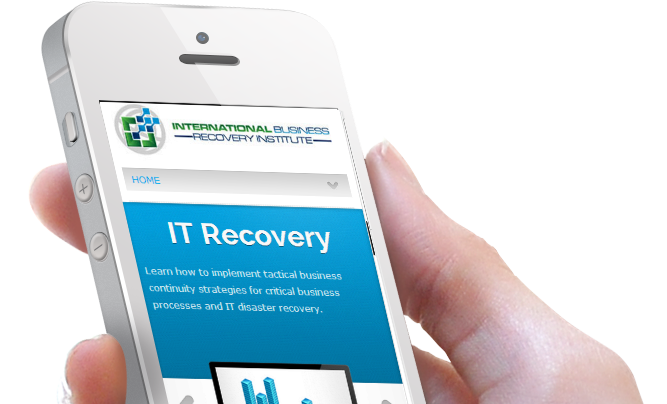 Business and IT Recovery Website Design