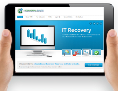 IT Recovery Web Design