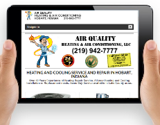 Heating Repair Web Design